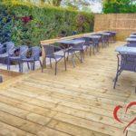 Au Coeur Joyeux - Taverne Café Brasserie Orcq (Tournai) - Terrasse